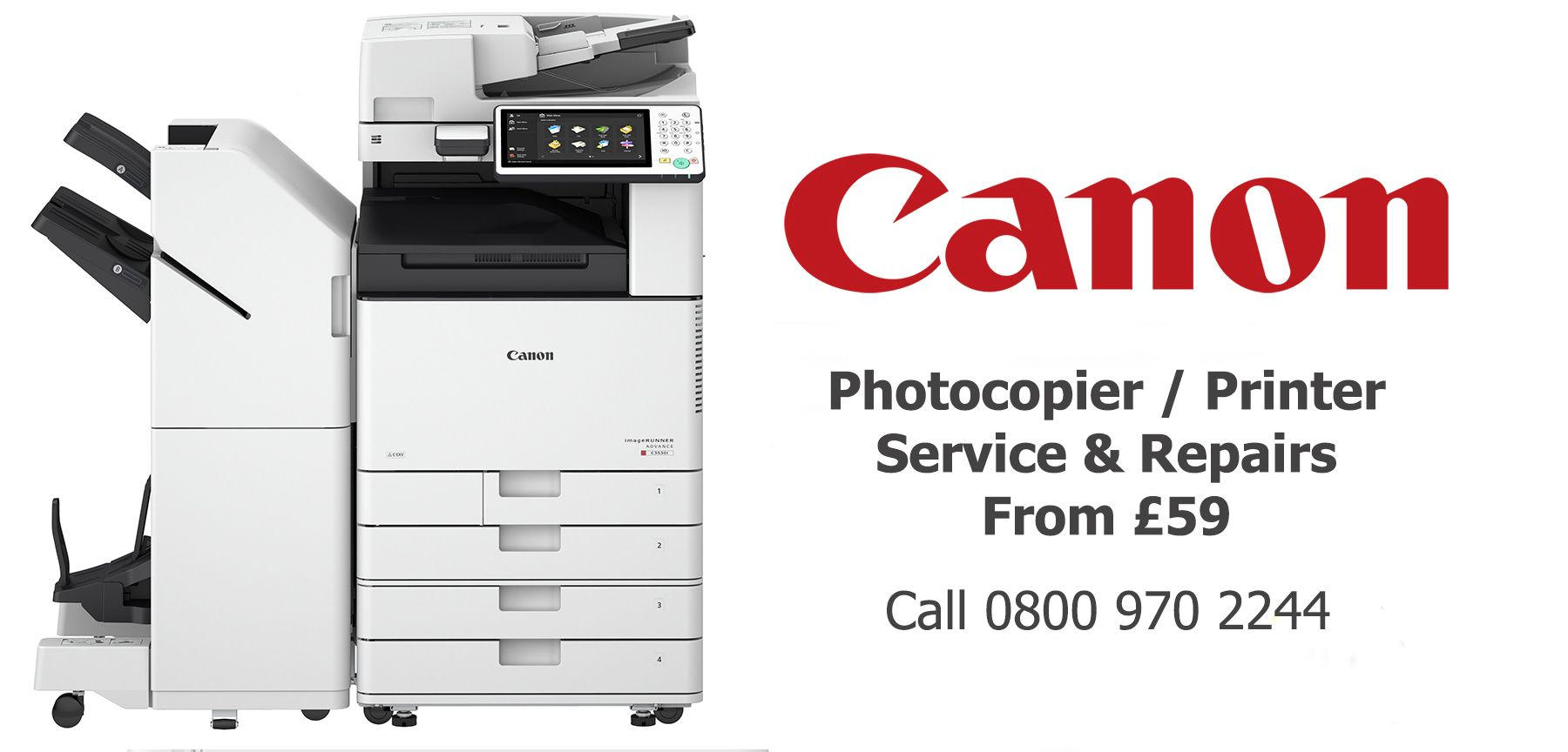 Canon photocopier service and printer repairs lancashire