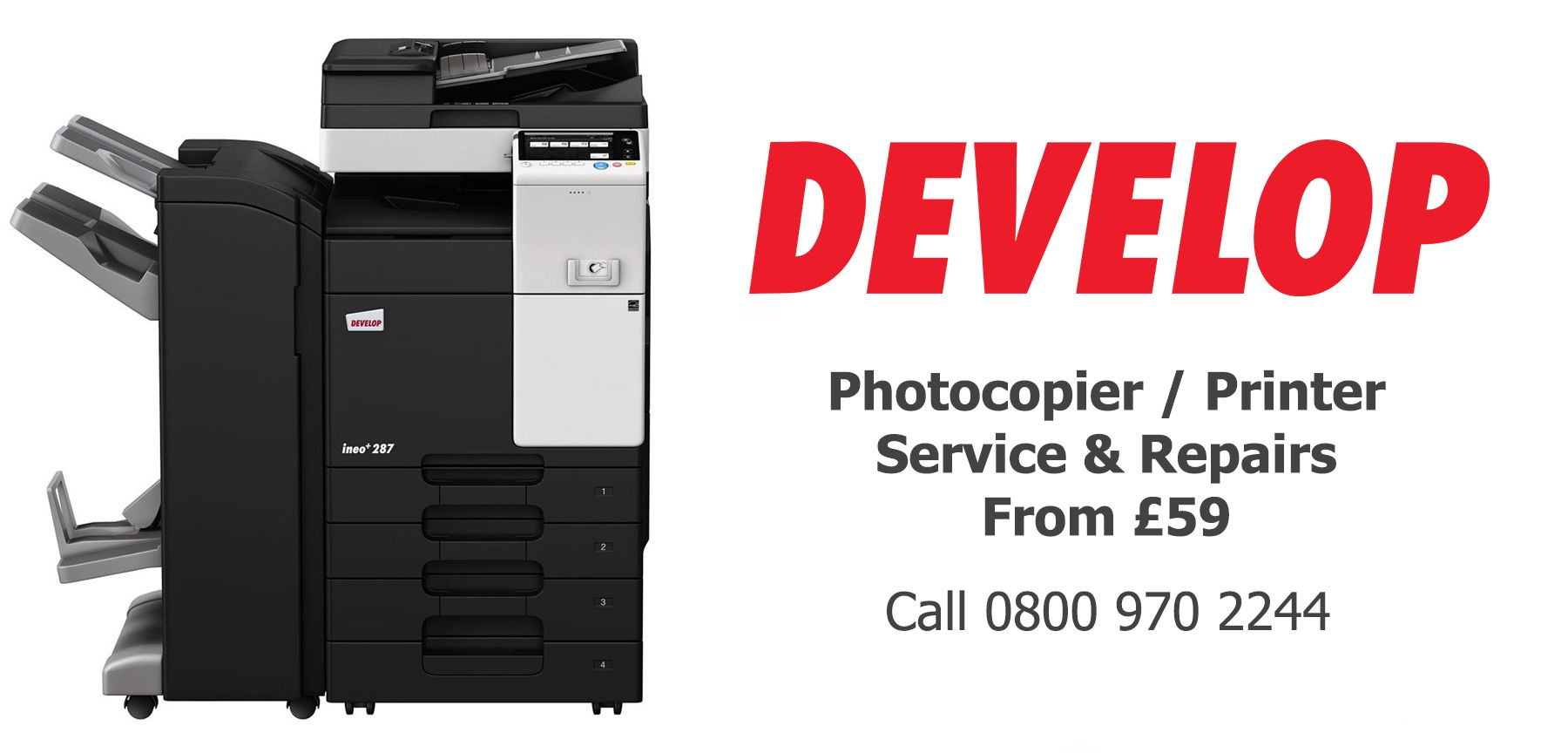 Develop photocopier service and repairs in Warrington Burnley Accrington Colne