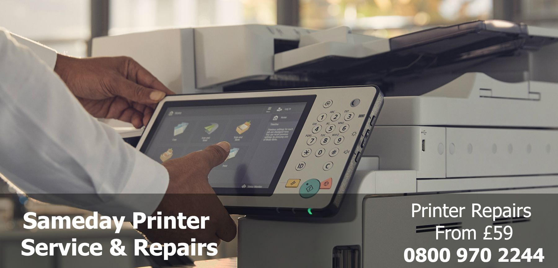 photocopier service and repairs in Failsworth