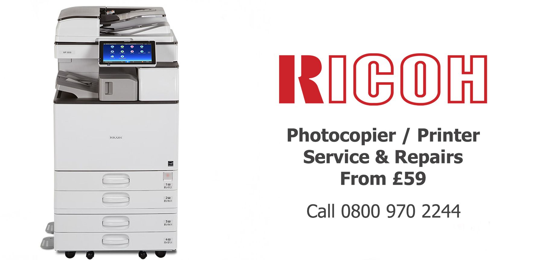 Ricoh photocopier service and printer repairs lancashire