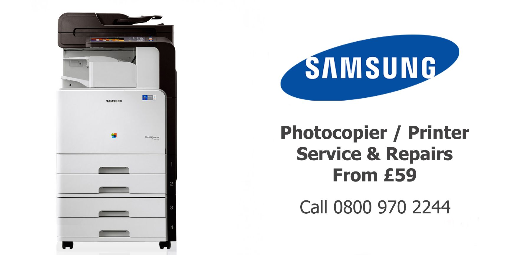 Samsung photocopier service and repairs in Lancaster Burnley Accrington Colne